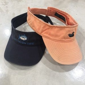 Southern Tide/Southern Marsh Men's Visors Lot of 2